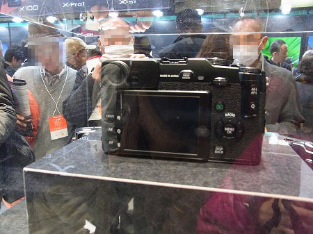 富士フィルムX-Pro1ファインダー